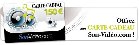 Carte Cadeau Son-Vidéo.com