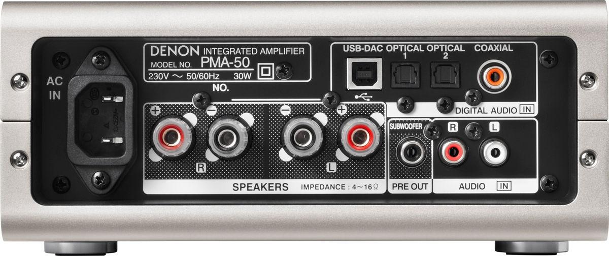 Test : Denon PMA-50 (ampli numérique 24/192 & DSD) | Le blog de Son-Vidéo.com