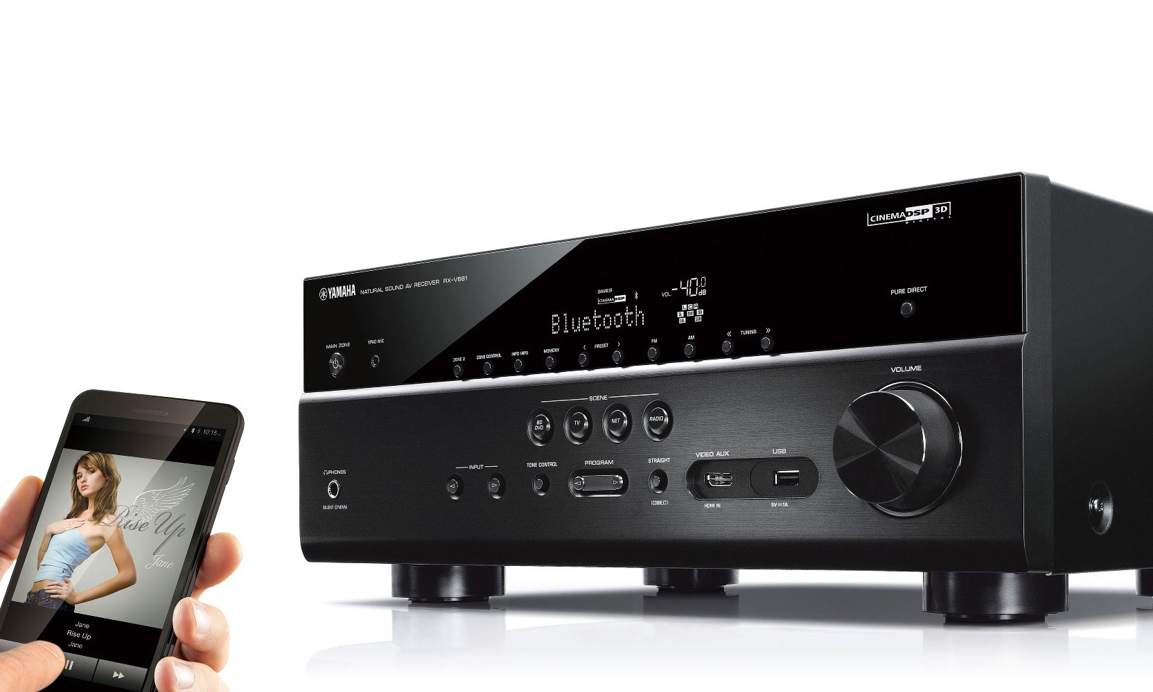 yamaha s latest line of home cinema receivers rx vx81. Black Bedroom Furniture Sets. Home Design Ideas