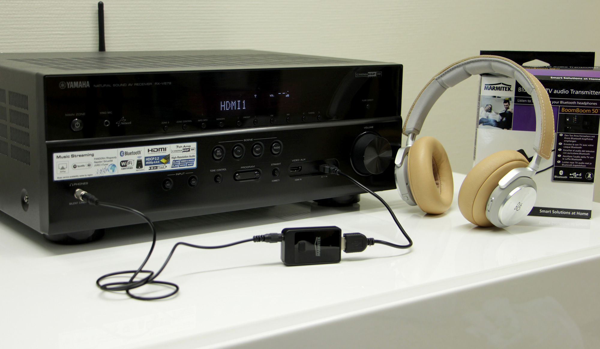 Yamaha Receiver Headphone Jack