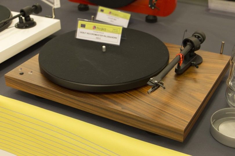 Festival Son&Image Platine vinyle Pro-Ject Debut Record Master