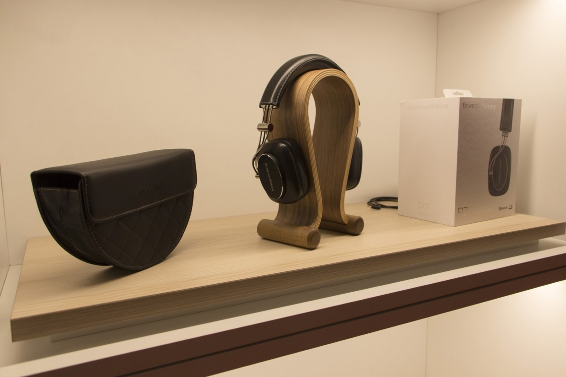 Festival Son&Image casque Bower&Wilkins P7 Wireless