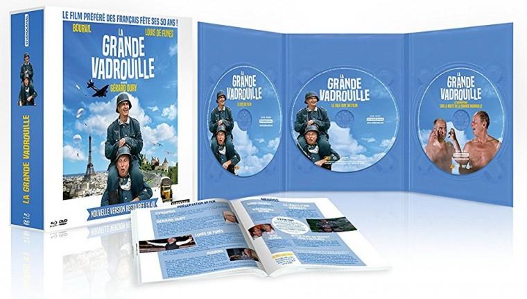 Test Blu-ray La grande vadrouille