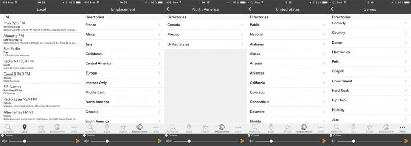 Webradios-iPhone