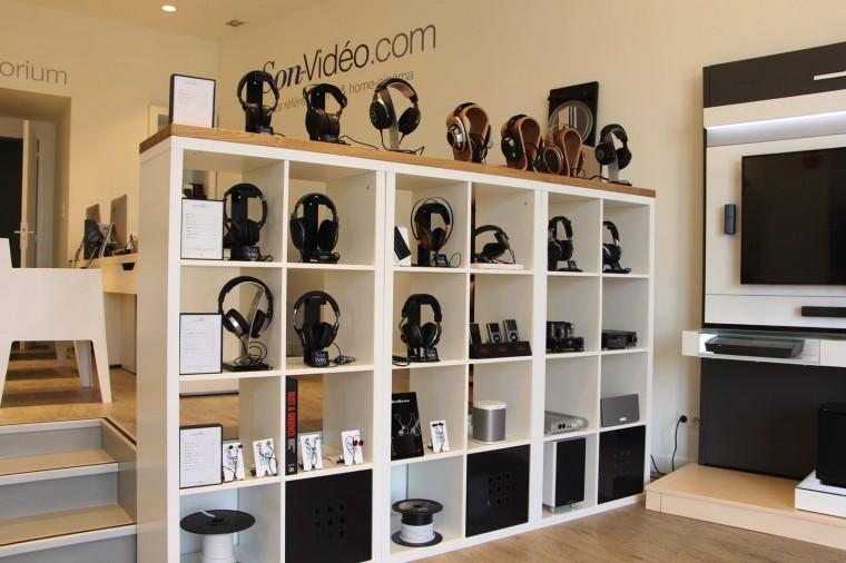 Son-Vidéo.com Lyon Casques hi-fi
