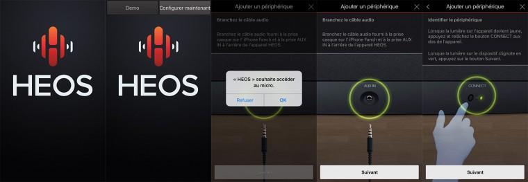 App Heos : installation