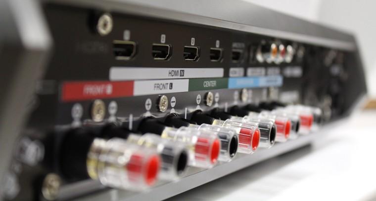 Denon Heos AVR : connectique
