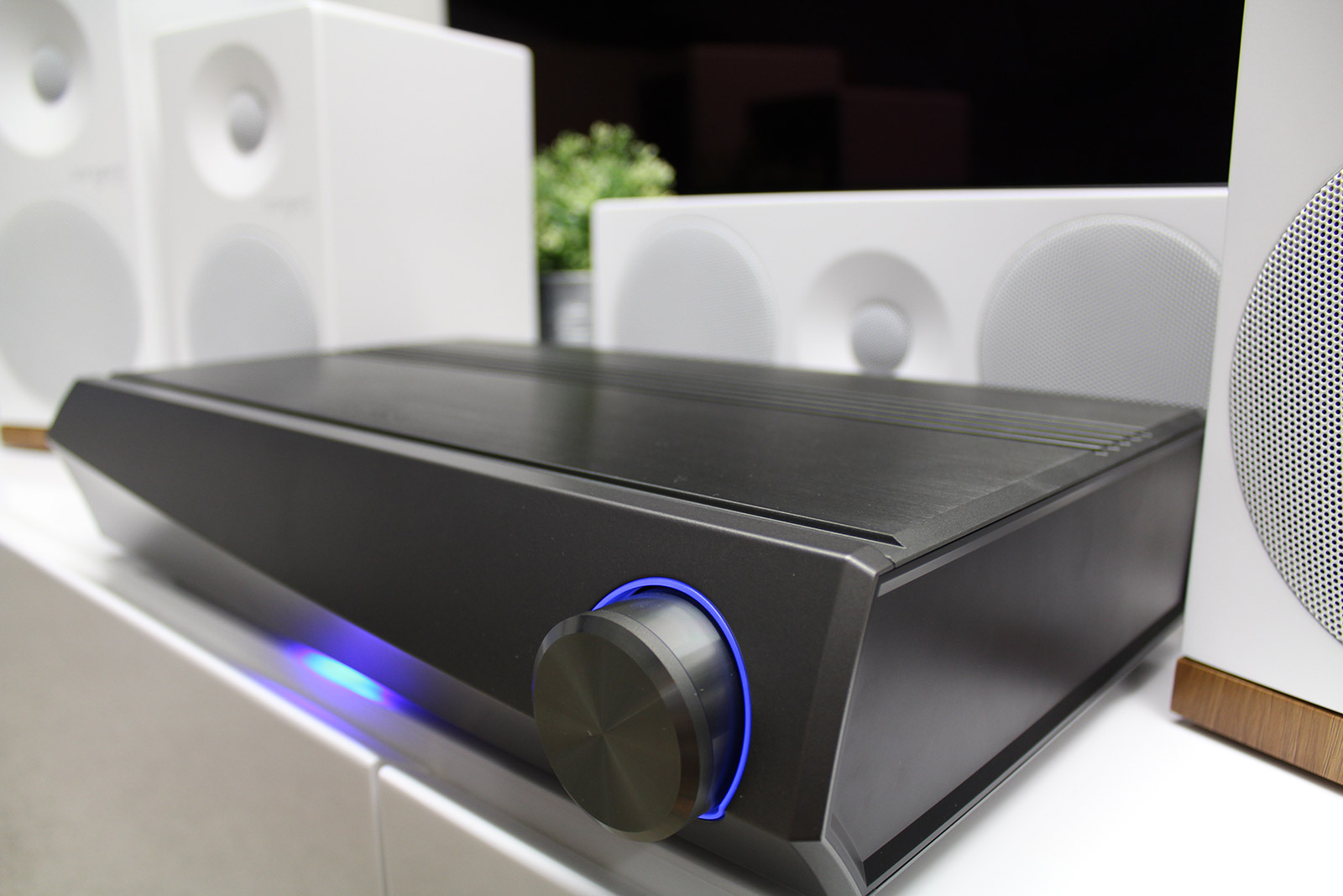Review Denon Heos Bar Heos Sub And Heos Avr Son Vid O Com Blog # Meuble Tv Audio