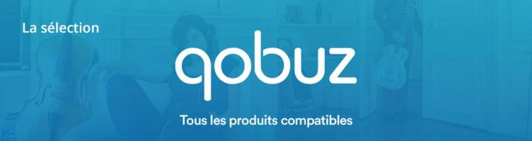 Qobuz : tous les produits compatibles