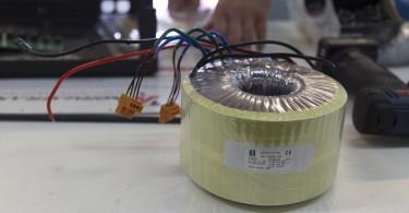 Visite Usine Atoll Electronique transformateur torique