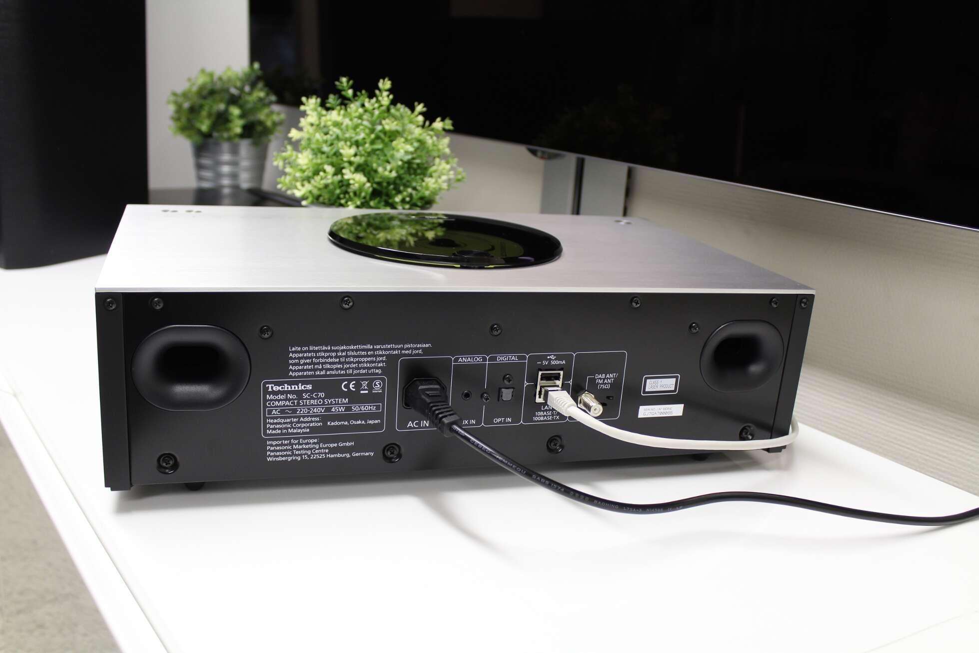 Test : Technics Ottava SC-C70EG