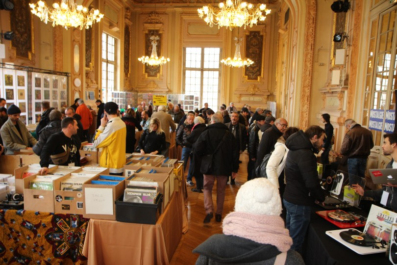 Vinyle Expo - vue de la salle